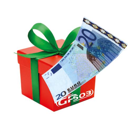 Geschenkgutschein im Wert von 20 EUR
