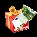 Geschenkgutschein im Wert von 100 EUR