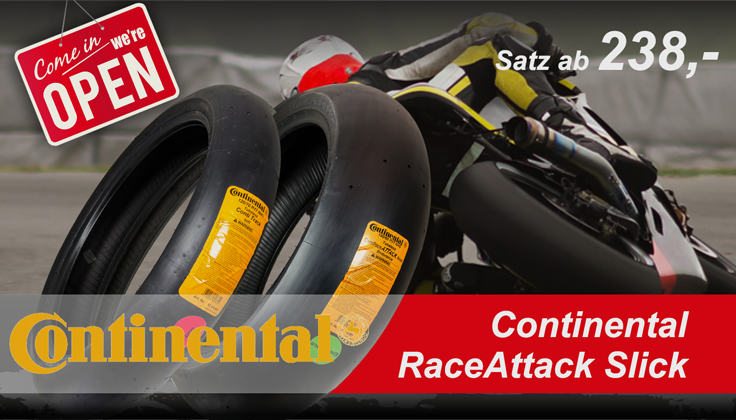 Continental RaceAttack Slick SALE 2017