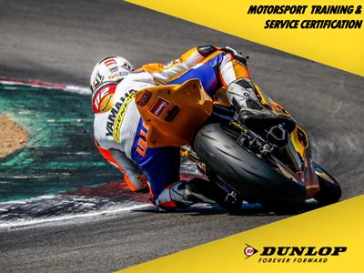 Dunlop Rennreifen Service Certifikation